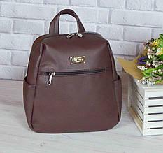 """Жіночий рюкзак """"Katty"""" PLUMMY BROWN 09"""