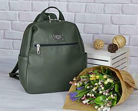 """Жіночий рюкзак """"Katty"""" FOREST GREEN 13"""