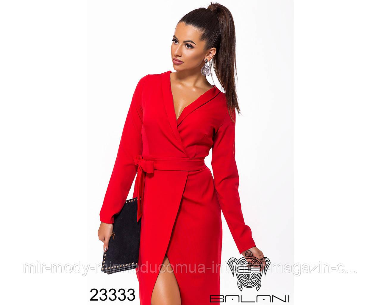Платье на запах- 23333 с 42 по 46 размер (бн)