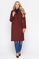 Женское пальто ФИДЖИ марсала