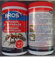 Инсектицидное высокоэффективное средство Bros (Брос) порошок от муравьев, 100 г