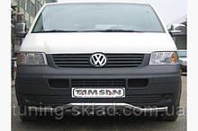 Нижняя губа волна-гриль Volkswagen T5 Transporter 2003-2010 (Фольцваген Транспортер)
