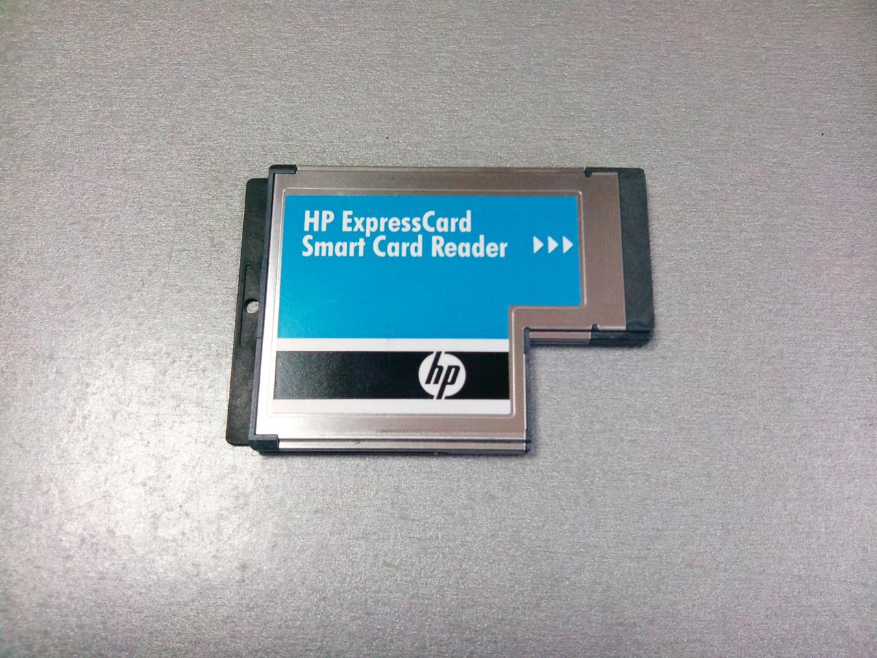 Считыватель смарт-карт HP SCR3340 ExpressCard 54 Card Reader Hewlett Packard