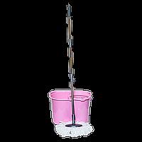 Комплект для уборки Magic 20 л розовый