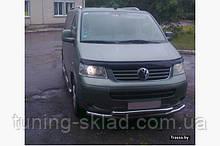 Нижняя двойная губа Volkswagen T5 Multivan 2003-2010 (Фольцваген Мультиван)