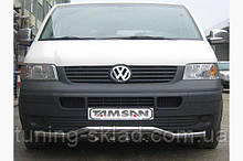 Нижняя губа волна-гриль  Volkswagen T5 Multivan 2003-2010 (Фольцваген Мультиван)