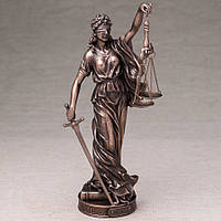 Статуэтка Veronese Фемида богиня правосудия 26 см (76420A1)