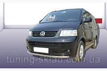 Нижняя одинарная губа Volkswagen T5 Caravelle 2004-2010  (Фольцваген Каравелл)