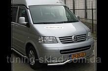 Нижняя губа волна Volkswagen T5 Caravelle 2004-2010  (Фольцваген Каравелл)