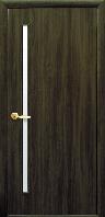 Двери ГЛОРИЯ экошпон со стеклом Новый Стиль