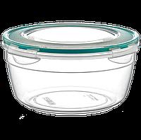 Контейнер Fresh Box круглый 1,5 л прозрачный, фото 1