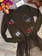 Туника для девочек 6-16 лет Оптом и в розницу Турция  Little star, фото 1