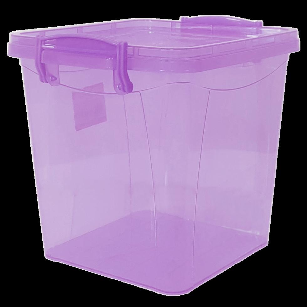 Контейнер на защелках 3,7 л фиолетовый
