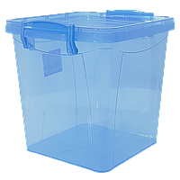 Контейнер на защелках 3,7 л синий