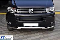 Нижняя губа  Volkswagen T5 рестайлинг 2010-2015  (Фольцваген T5)