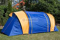 Палатка туристическая Abarqs Gobi - 4 большая двухкомнатная, фото 1