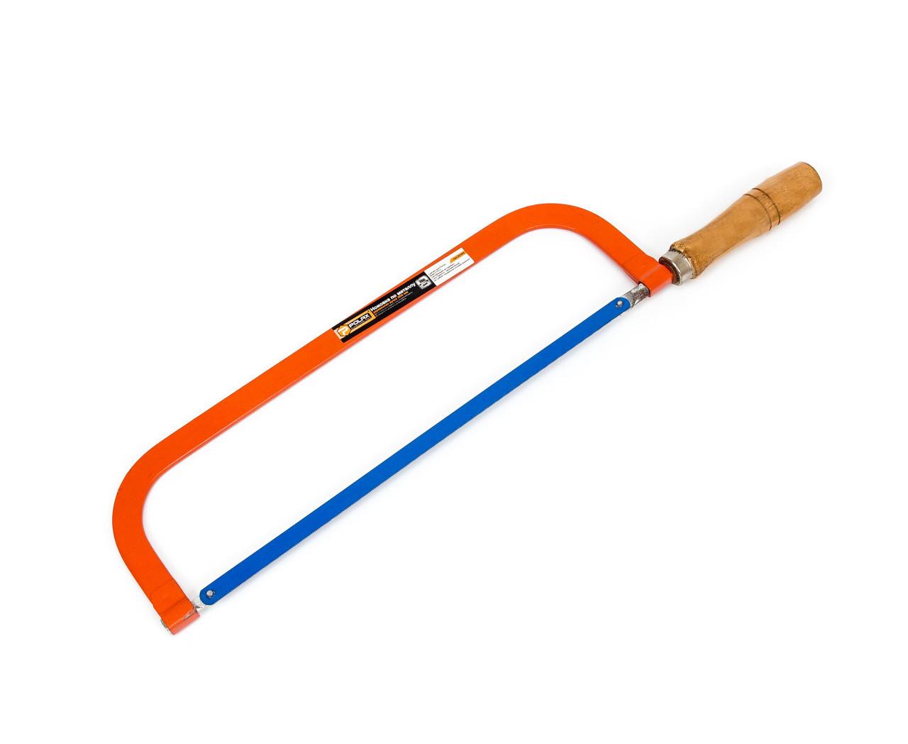 Ножовка по металлу Polax 300 мм (33-002) деревянная ручка