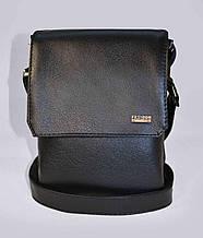 """Чоловіча сумка Slivki """"Jack"""" - колір чорний 02"""
