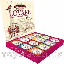 Коллекция чая Lovare Портфельчик ассорти 12 видов по 5 шт 120 г, фото 3
