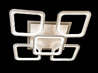 Светодиодная люстра с пультом-диммером белая 8060-4+1, фото 1