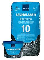 Фуга Kiilto Saumalaasti 1-6mm (44 темно-серая) 20 кг., фото 1