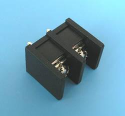 X977E02  Клеммник 2 контакта на плату, 300В 15А шаг 10,0мм