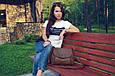 "Сумочка кросс-боди ""Holly"" 08 - TAUPE, фото 4"