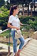 """Мини - рюкзак """"Sopfie"""" Grey Pearl 03, фото 4"""