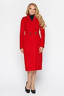 Женское пальто МИЛАНА красный