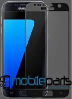 Защитное стекло для мобильного телефона Samsung J7 Duo   J720 (0,25 мм,3D)(Черное)(Тех.упаковка,без салфеток)