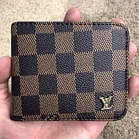 Кошелек Louis Vuitton бумажник мужской коричневый луи витон реплика eb960bb88ec