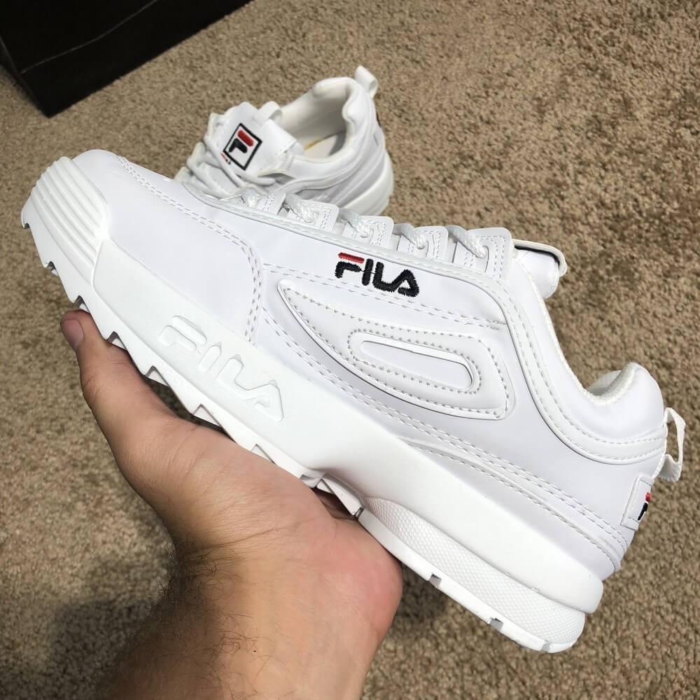 Кроссовки Fila Disruptor 2 White фила дизраптор белые реплика - Tali Store  - покупай с удовольствием 3045903430426