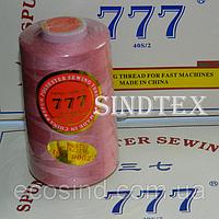 """279 Нитки """"777""""  швейные цветные 40/2 4000ярдов (от 6 бобин)"""