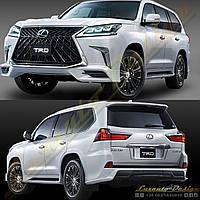 Обвес стиль TRD для Lexus LX570 2017+