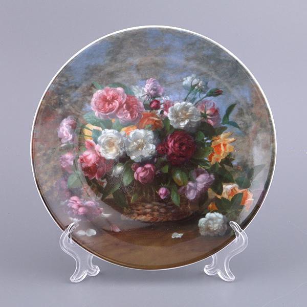 Декоративная тарелка Adekor Цветы 19 см 451-155