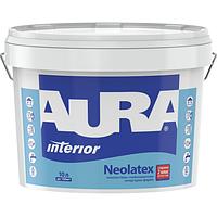 Aura Neolatex 1 л, белая - Интерьерная краска глубокоматовая износостойкая, тонируется, для детских комнат