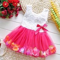 Платье с фатиновой юбкой размер 98.