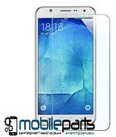 Защитное стекло для мобильного телефона Samsung J7   J700 (0,25 мм,2.5D)(Тех.упаковка,без салфеток)