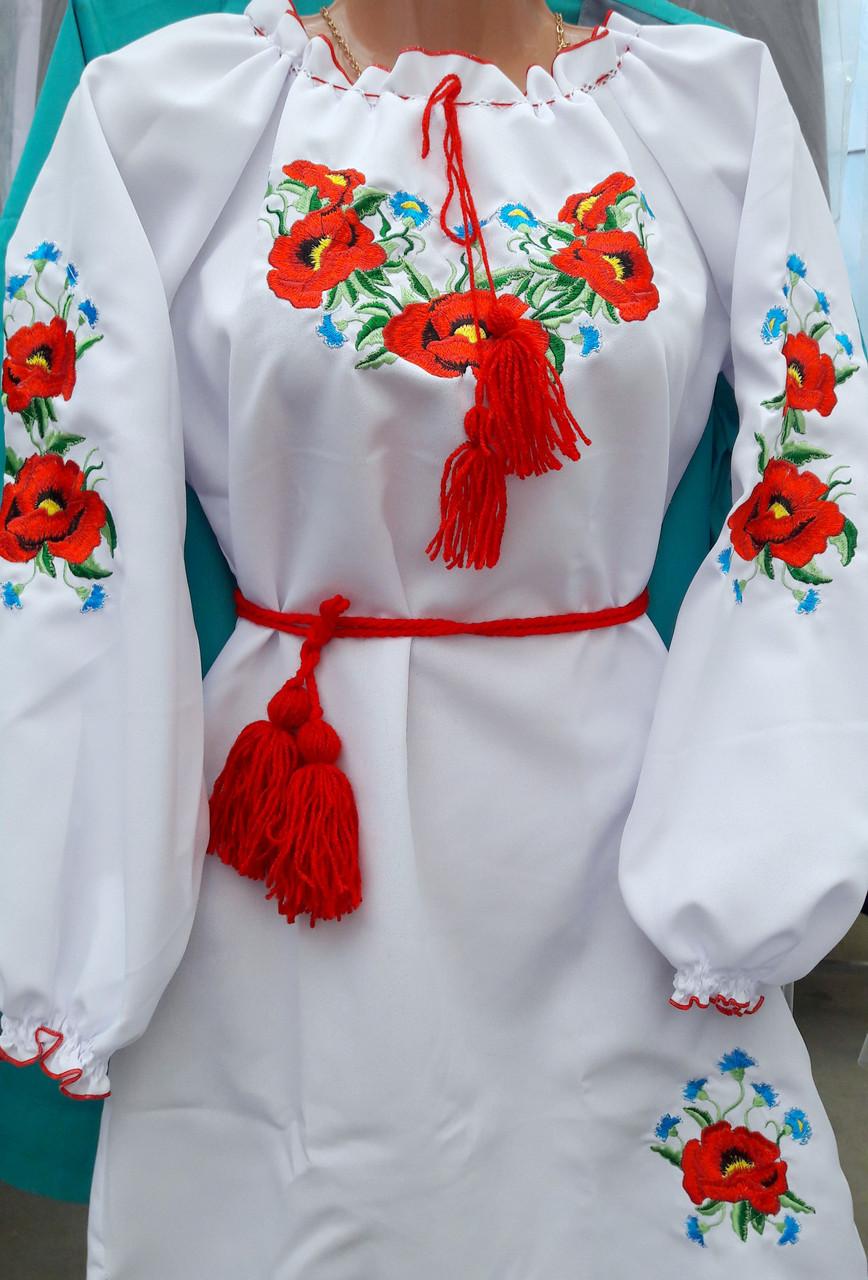 Платье вышитое детское Марийка 2