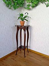 "Деревянная подставка под цветы от производителя ""Азалия"", фото 2"