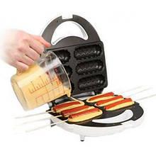 DOMOTEC тостер MS 0880 HOT DOG MAKER для приготовления хот-догов и сосисок на палочке