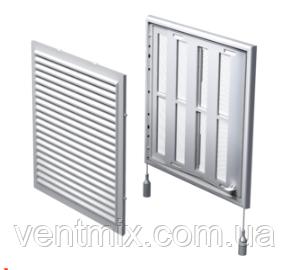 Решетка вентиляционная жалюзи  МВ 250 Рс