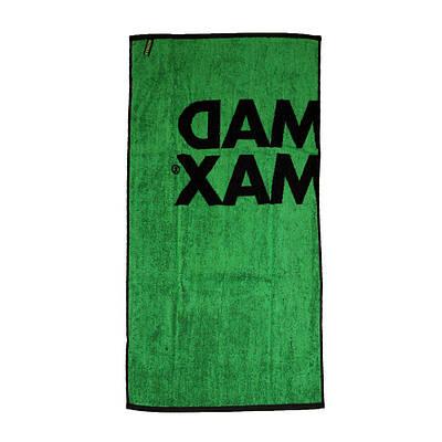 MM Полотенце MST 002 - черный/зеленый