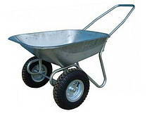 Тачка садовая 2-х колёсная FORTE  80кг./140л. (WB6211)