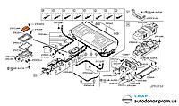 Выключатель аккумуляторной батареи (литий-ионного аккумулятора) Nissan Leaf ZE0 (10-13) 297C1-3NA0A