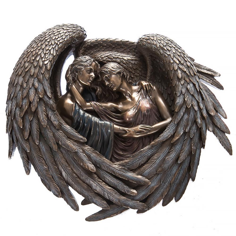 Панно на стену Veronese Объятья ангелов 25 см 73779
