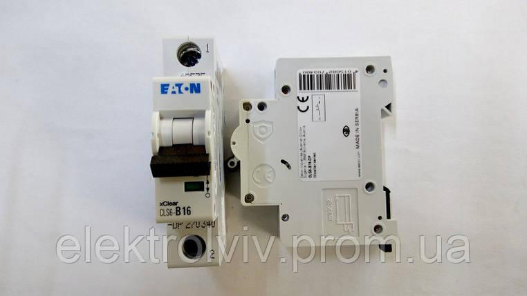Автоматический выключатель Eaton CLS6-B16-DP, фото 2