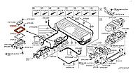 Заглушка включателя аккумуляторной батареи (аккумулятора) Nissan Leaf ZE0 / AZE0 (10-17) 74489-3NA0A