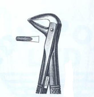 Щипцы для удаления нижних корней №74M (Пакистан) NaviStom