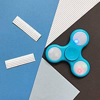 Оригинальный LED, голубой, Spinner (С-019)
